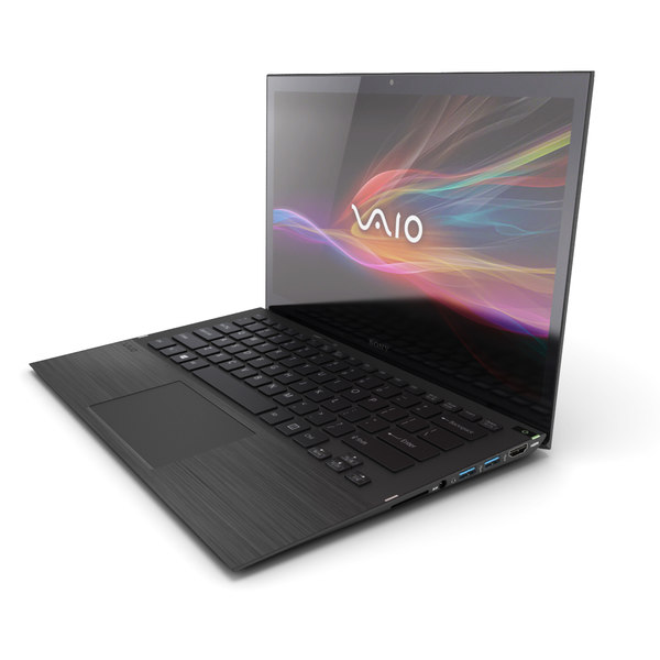 Sony Vaio Ultrabook 3D Models