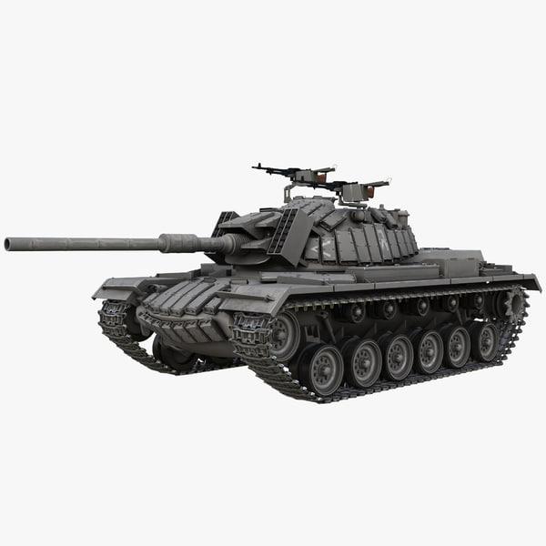 Magach 5 Israel Tank 3D Models