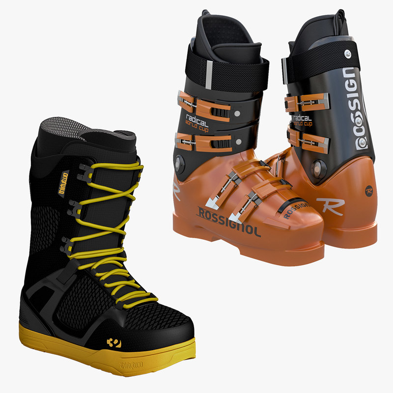 Hard and Soft Snowboard Boots