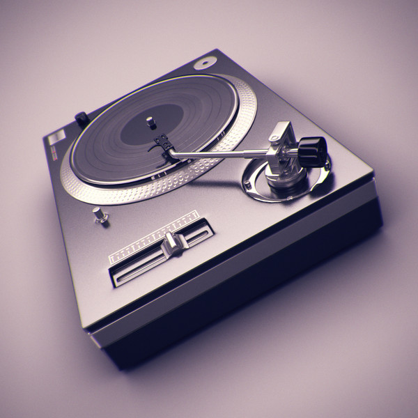 DJ Deck 3D Models