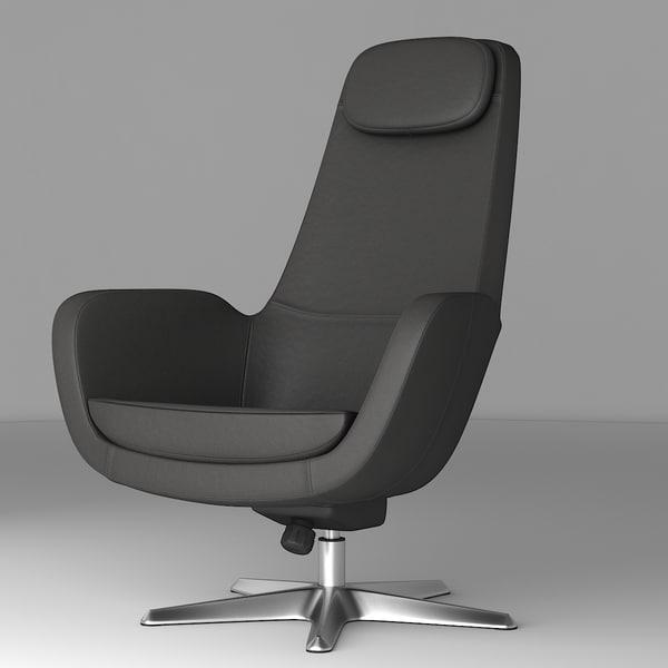 ARVIKA Ikea® Swivel chair 3D Models