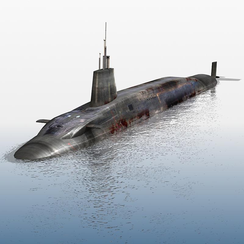 Submarine HMS Vanguard S28