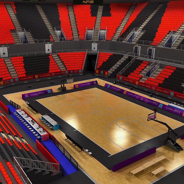 Basketball Arena 3D models