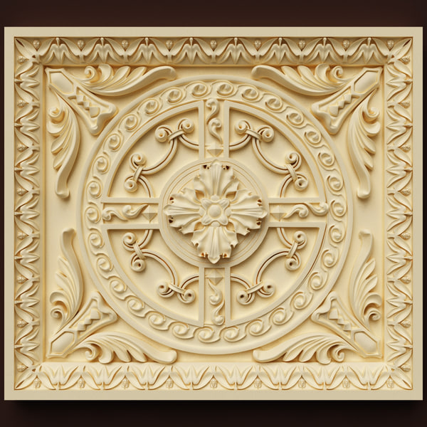Wall Panel Texture Maps