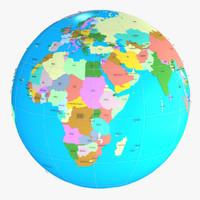map 3D models
