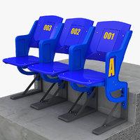 Stadium Seating 3D models