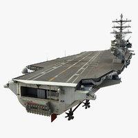 military vessel 3D models