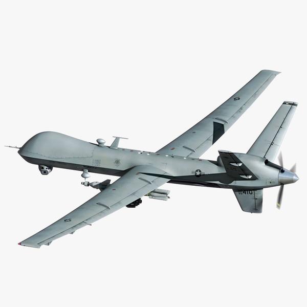 MQ-9 Reaper 3D Models