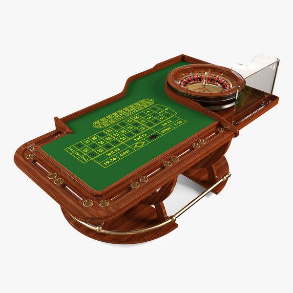Roulette 3D Models