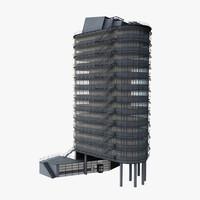 office building 3D models