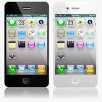 Apple iPhone 4S 3D models