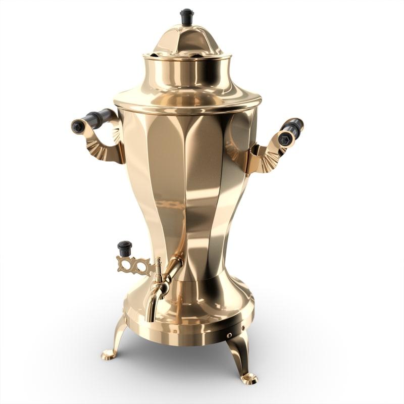 samovar polys 3d model
