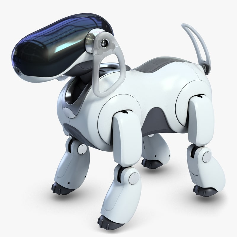 3d 3ds aibo robot dog