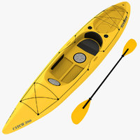 kayak 3D models