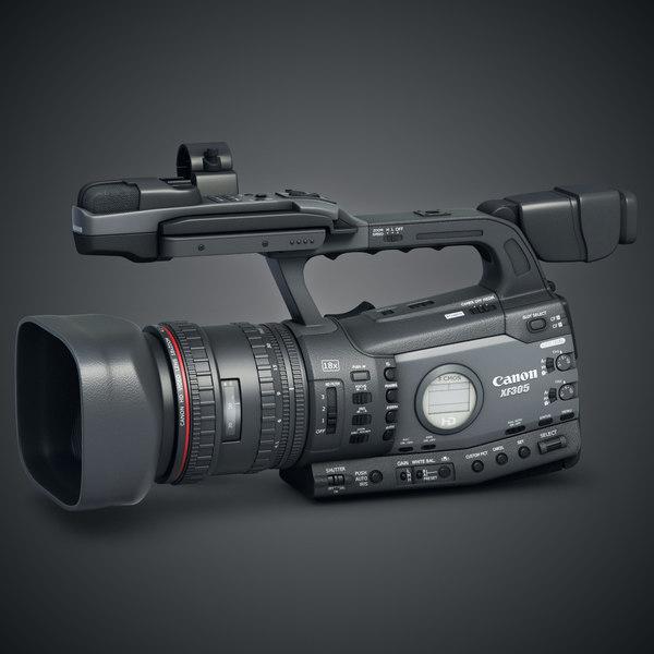 Camera Canon XF 305 3D Models