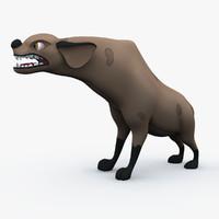 cartoon lion 3D models