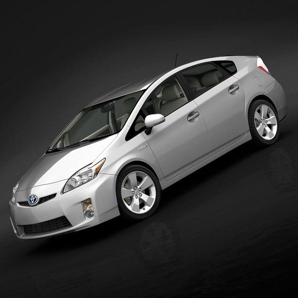 2010 Toyota Prius 3D Models
