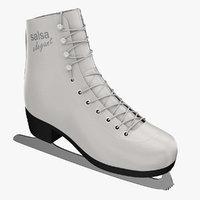 figure skate 3d models