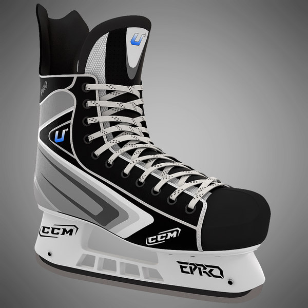 Ice Hockey Skate 3D Models