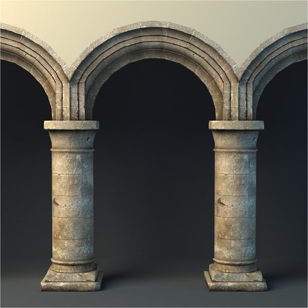 Rustic Archway 3D Models