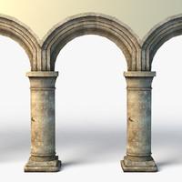 column 3d models