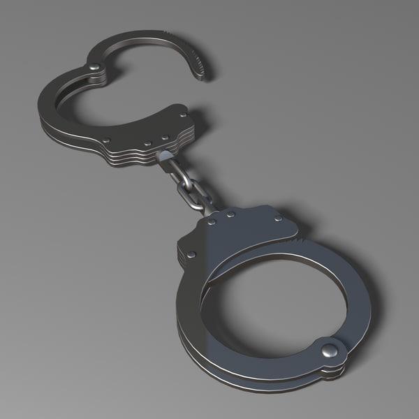 Handcuffs 3D Models