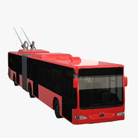 trolleybus 3D models