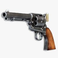 Colt Peacemaker 3D models