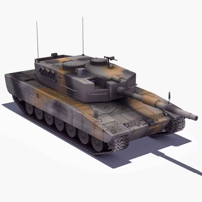 Leo2 German MBT