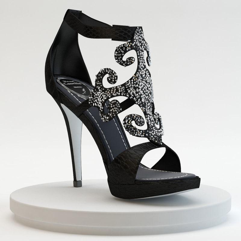 Caovilla - Ayer Noir Shoes
