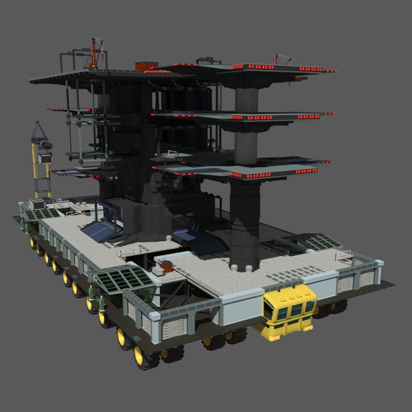 MLP-13 (Mobile Landing Place) 3D Models