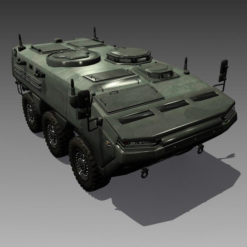 ARMA 6X6 Turkey Armoured Tactical Vehicle