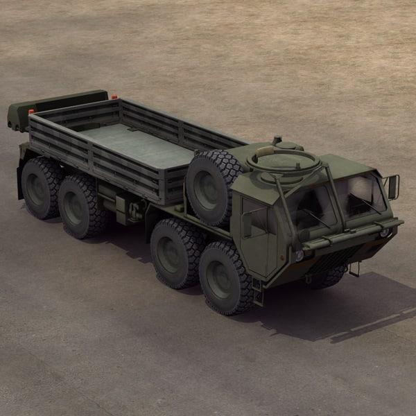 M985 Cargo HEMTT 3D Models