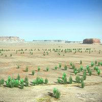 desert 3D models