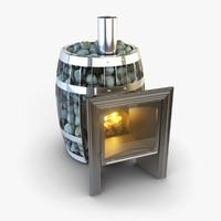 Sauna Stove 3D models