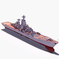 battlecruiser 3D models