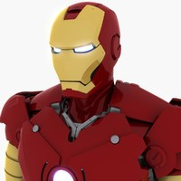iron man 3D models