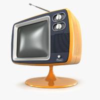 retro tv 3D models