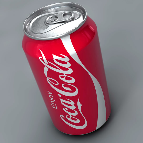 Coca-Cola Can 3D Models