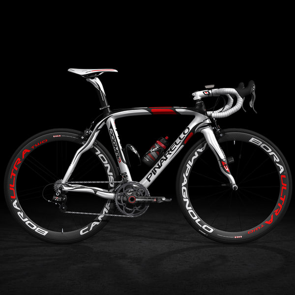 Road Bike, Rigged 3D Models