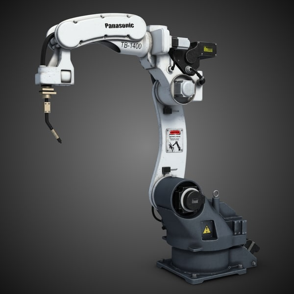 Industrial Robot Arm 3 TB-1400 3D Models