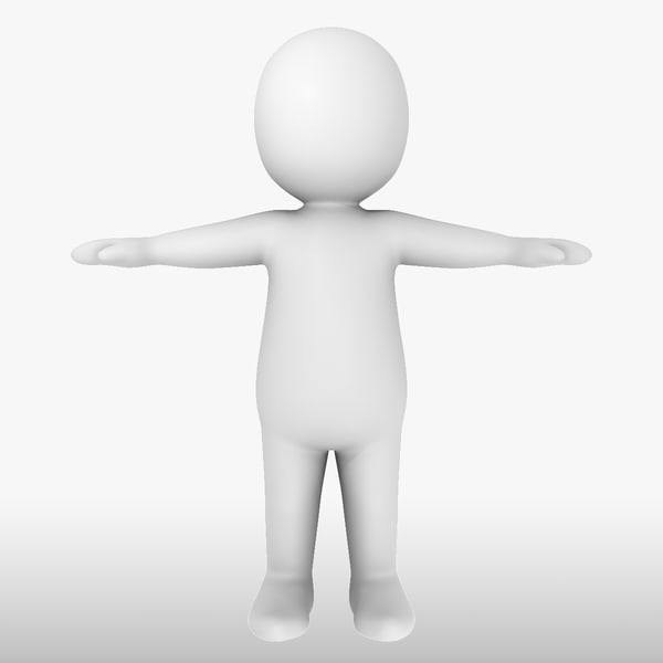 White Man - Generic Cartoon Character (Medium) Motion Capture