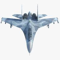 Su-27 3D models
