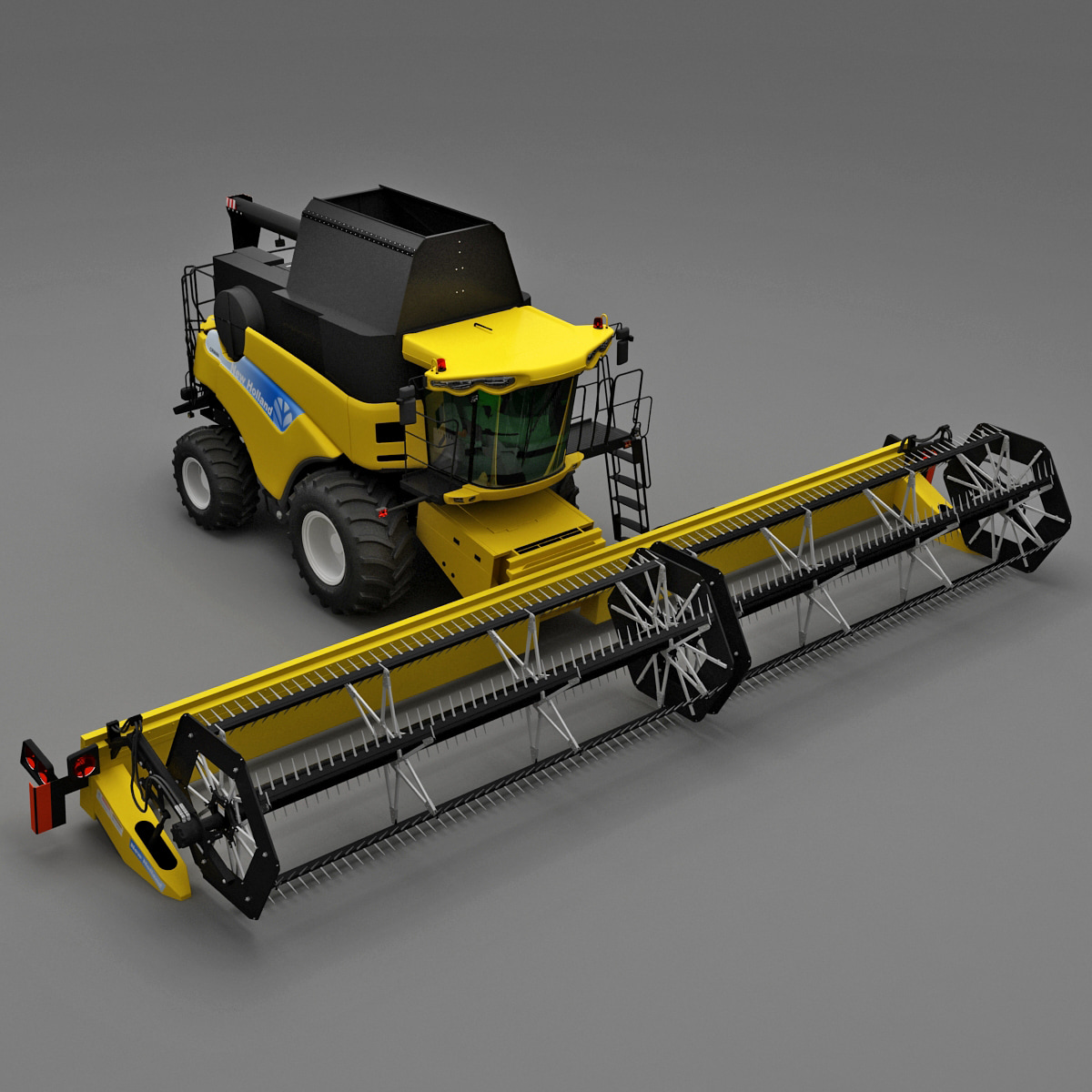 New Holland CR9000 Twin Rotor Combine 3