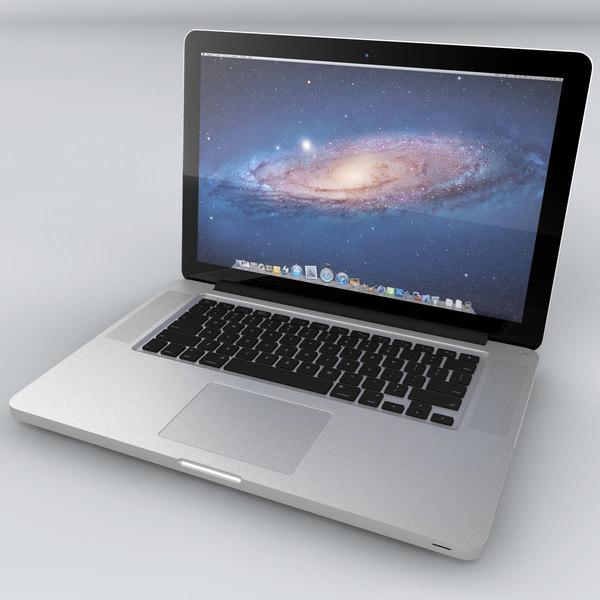 MacBook Pro Unibody 3D Models