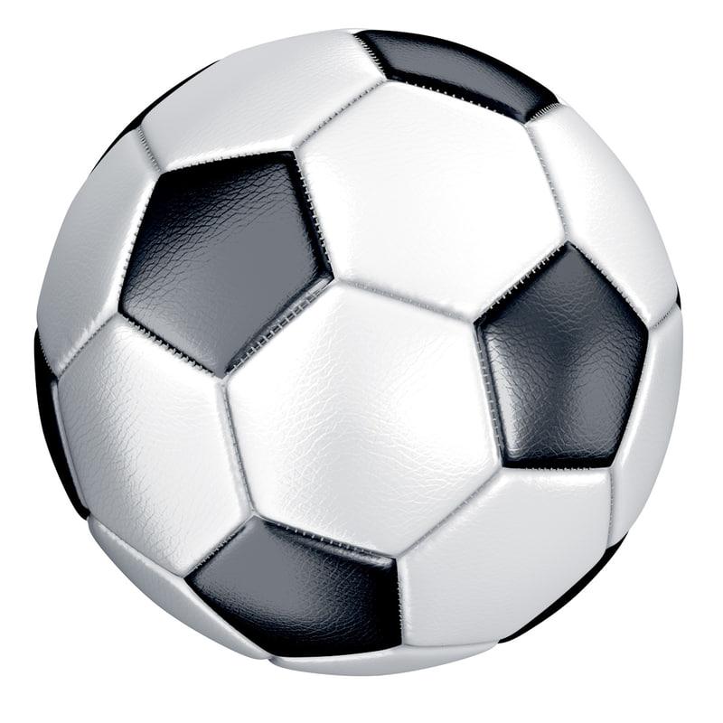 soccer ball 3d model Rolling Soccer Ball