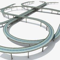 highway 3D models