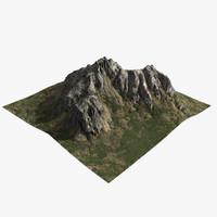 mountain 3D models