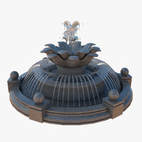 fountain 3d models