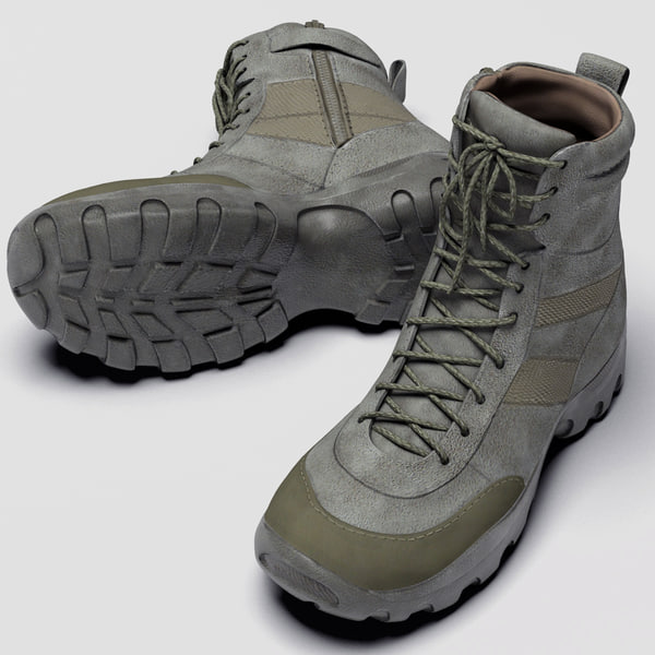 Male Hunter Boots 5.11 3D Models